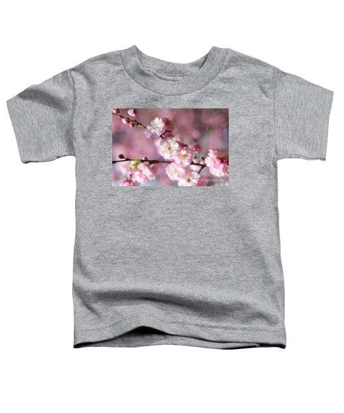 Pink Plum Branch 1 Toddler T-Shirt