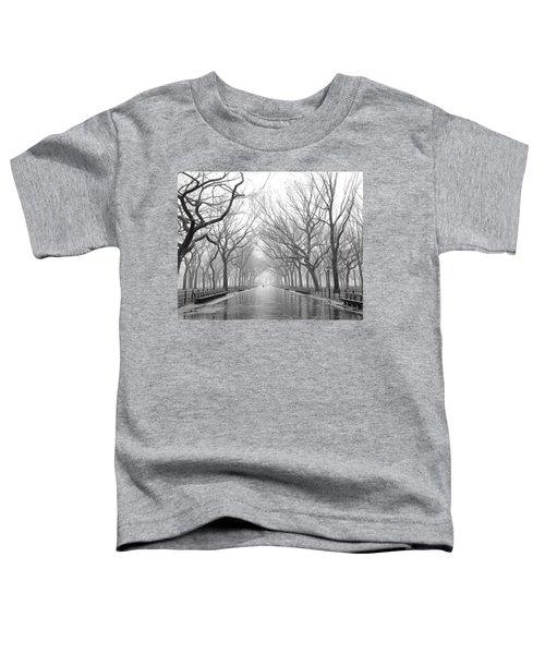 New York City - Poets Walk Central Park Toddler T-Shirt