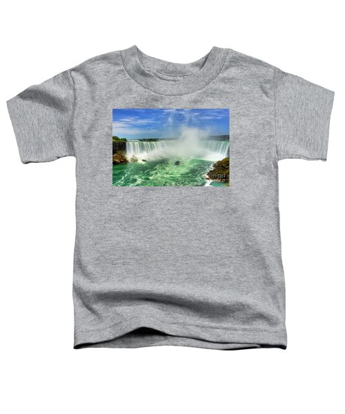 Point Of Land Cut In Two.. Toddler T-Shirt