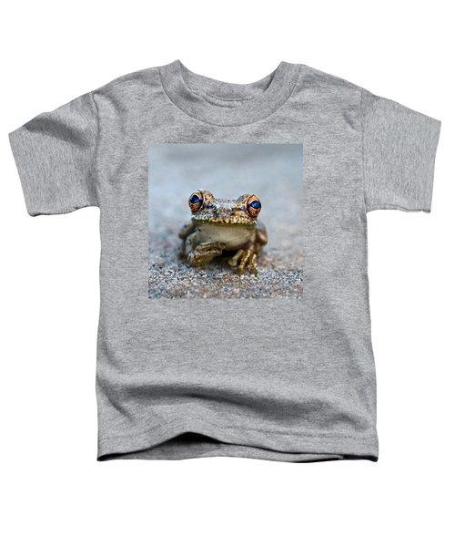 Pondering Frog Toddler T-Shirt
