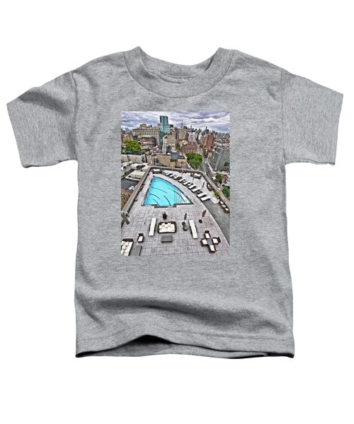 Pool With A View Toddler T-Shirt