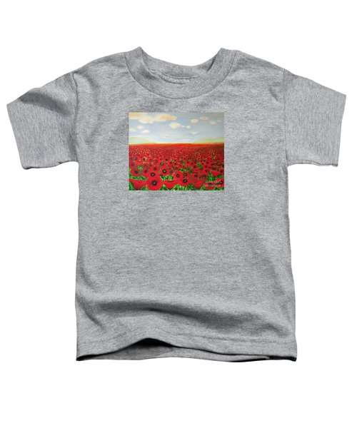 Poppy Fields Toddler T-Shirt
