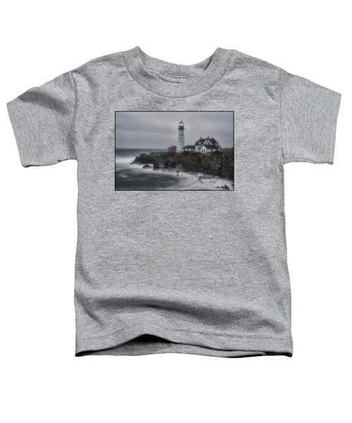 Portland Head Nor'easter Toddler T-Shirt