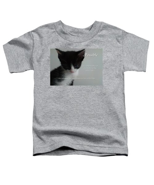 Possible Toddler T-Shirt