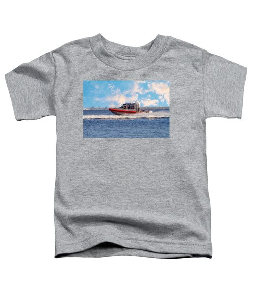 Protecting Our Waters - Coast Guard Toddler T-Shirt