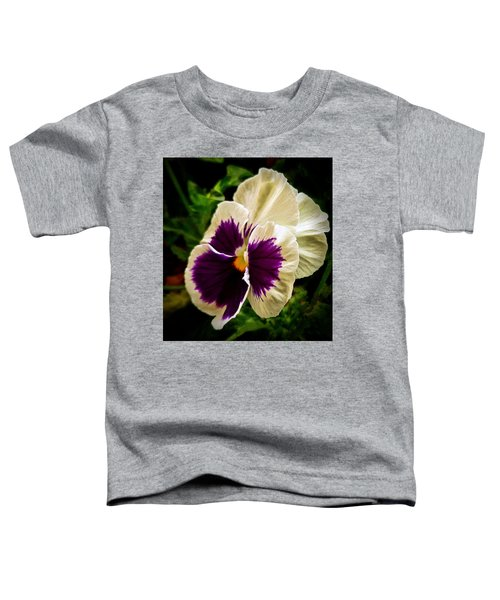 Purple Pansy Toddler T-Shirt