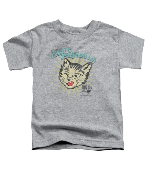 Puss N Boots - Cats Pajamas Toddler T-Shirt