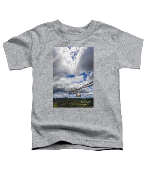 Radio Telescope At Arecibo Observatory In Puerto Rico Toddler T-Shirt