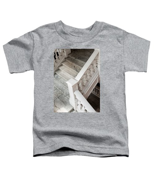 Raffle's Hotel Marble Staircase Toddler T-Shirt