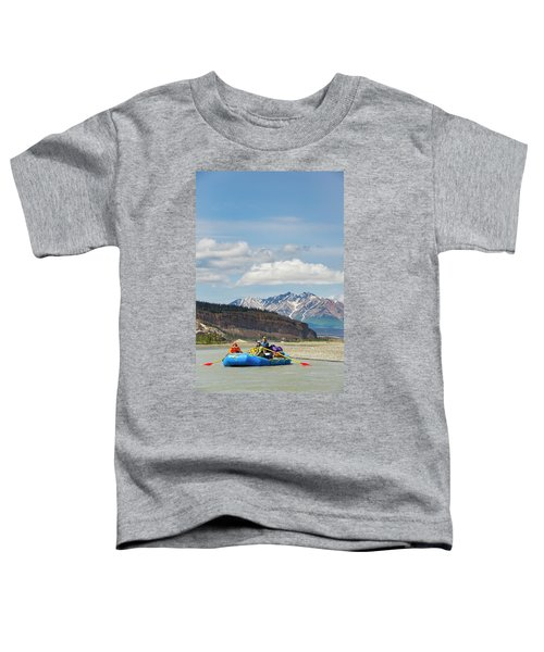 Rafters On The Alsek River Toddler T-Shirt