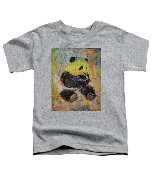 Rasta Panda Toddler T-Shirt