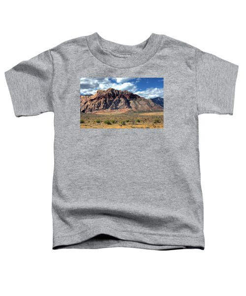 Toddler T-Shirt featuring the photograph Red Rock by Andrea Platt