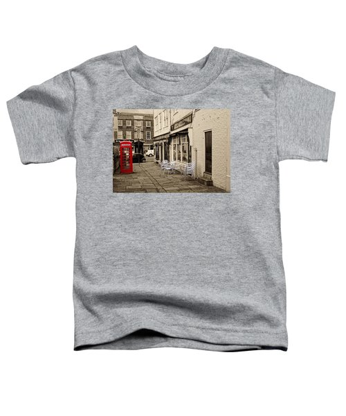 Red Telephone Box Toddler T-Shirt