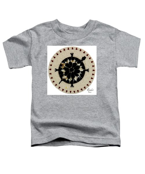 Red Tip Shell Toddler T-Shirt