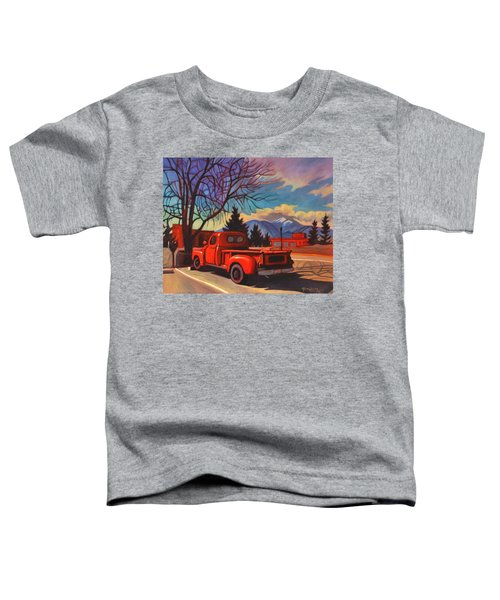 Red Truck Toddler T-Shirt