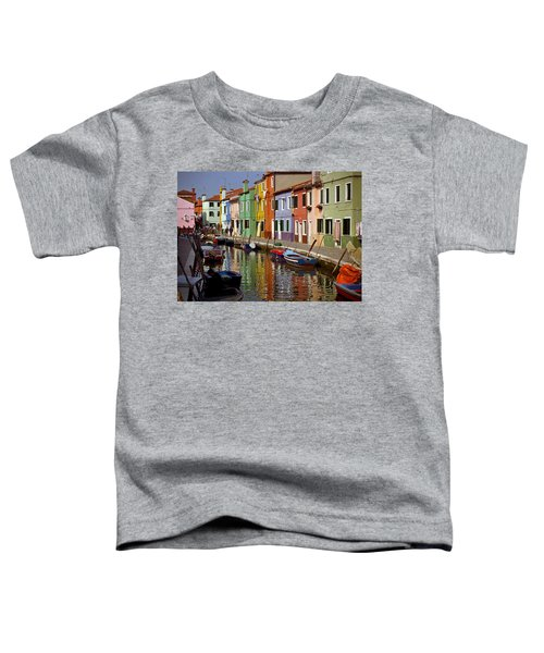 Reflections Of Burano Toddler T-Shirt