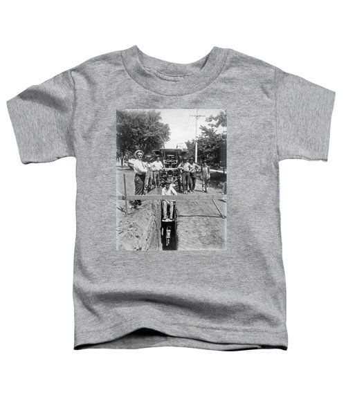 Road Workers In La Toddler T-Shirt