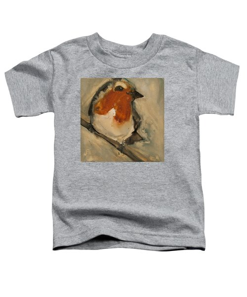 European Robin Toddler T-Shirt