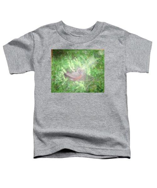 Robin On Her Nest Toddler T-Shirt