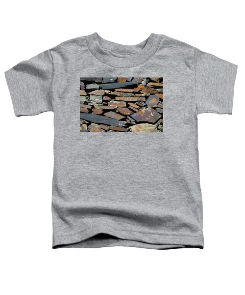 Rock Wall Of Slate Toddler T-Shirt