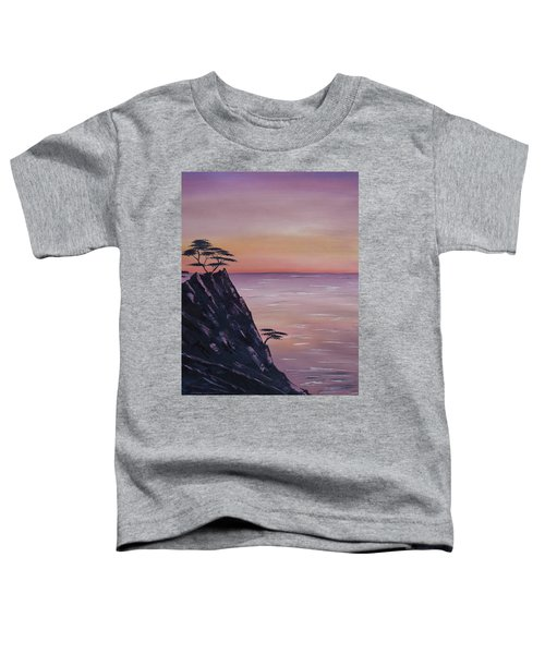 Rocky Sunset Toddler T-Shirt