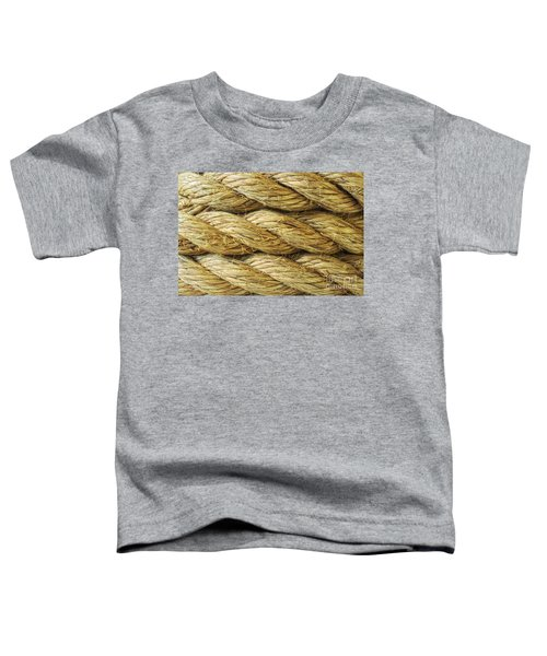 Rope Background Texture Toddler T-Shirt