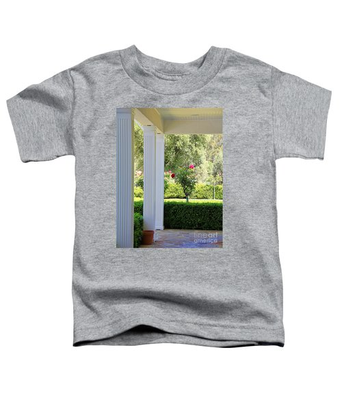 Rose And Front Porch Toddler T-Shirt
