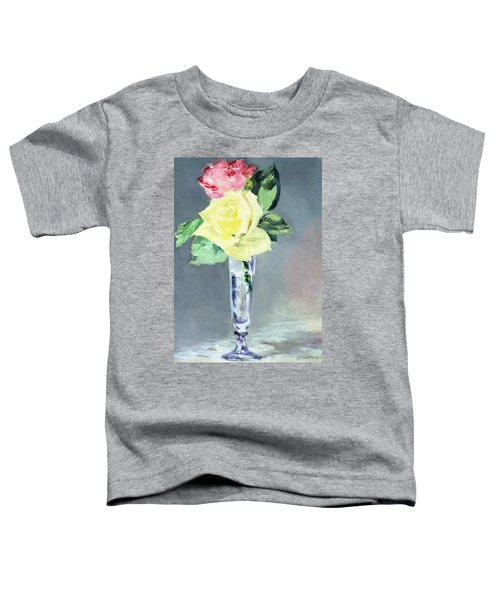 Roses In A Champagne Glass Toddler T-Shirt