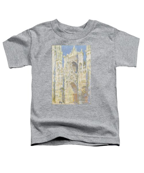 Rouen Cathedral West Facade Toddler T-Shirt