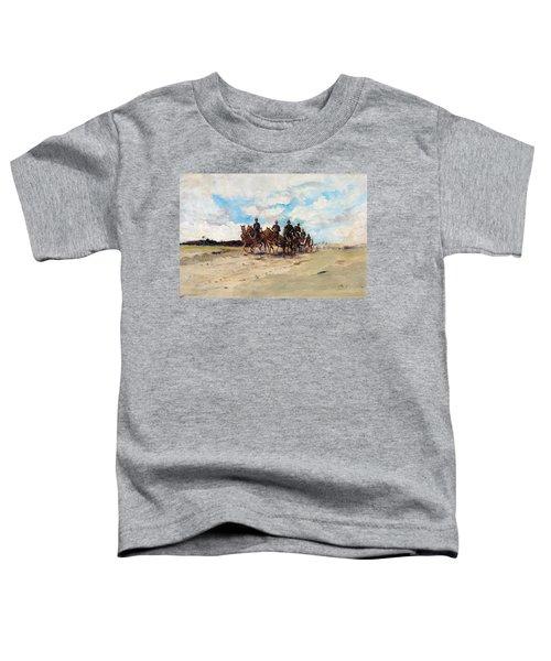 Royal Artillery, A Field Gun Team Toddler T-Shirt
