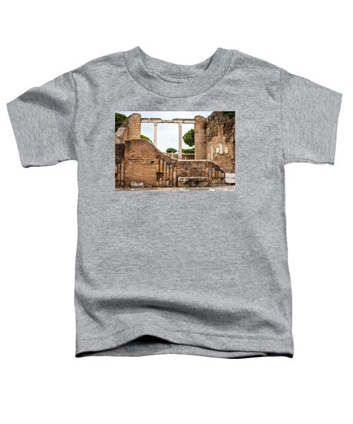 Ruins Of Ostia Antica Toddler T-Shirt