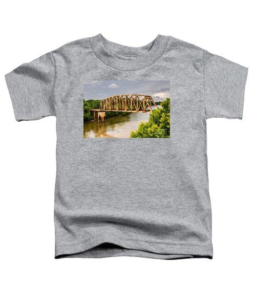 Rusty Old Railroad Bridge Toddler T-Shirt