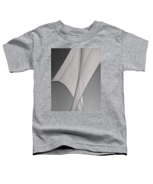 Sailcloth Abstract Number 3 Toddler T-Shirt