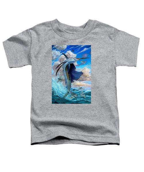 Sailfish And Flying Fish Toddler T-Shirt