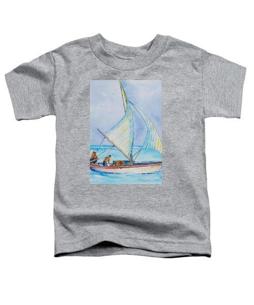 Sailing Belize Toddler T-Shirt