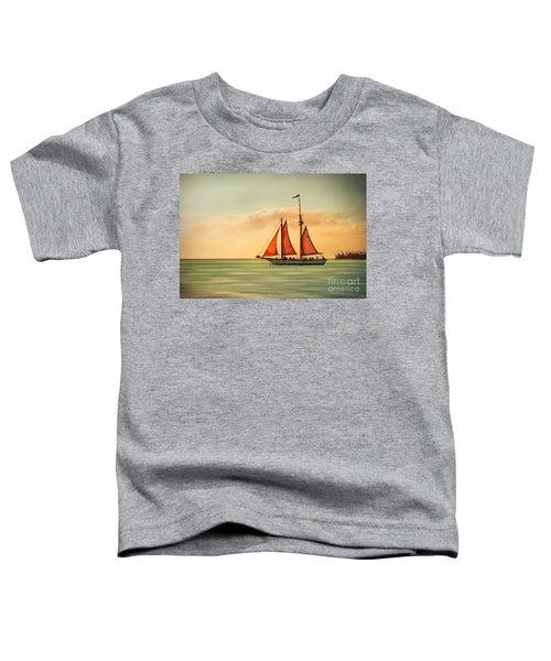 Sailing Into The Sun Toddler T-Shirt