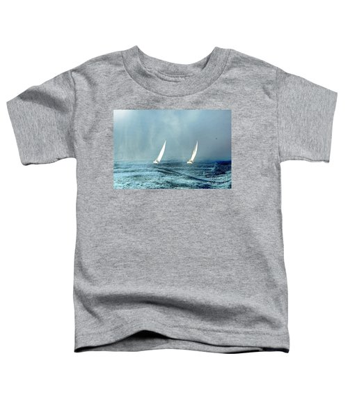 Sailing Into The Unknown Toddler T-Shirt