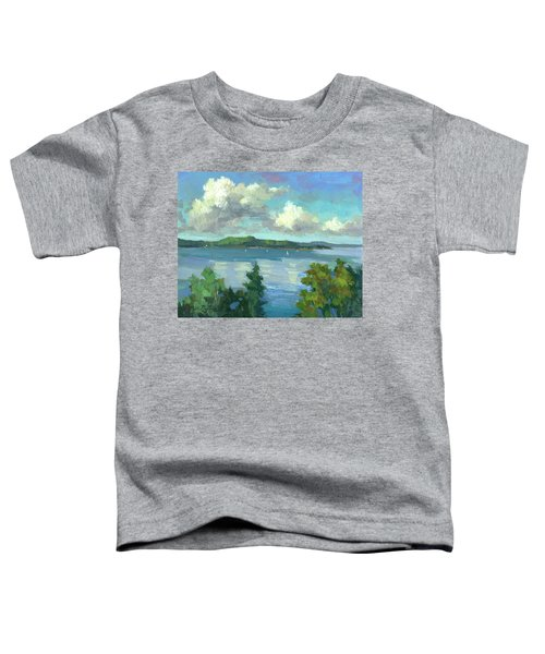 Sailing On Puget Sound Toddler T-Shirt
