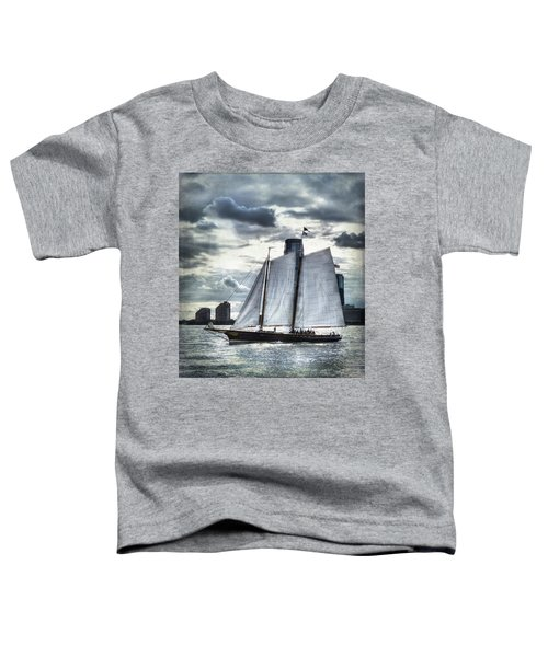 Sailing On The Hudson Toddler T-Shirt