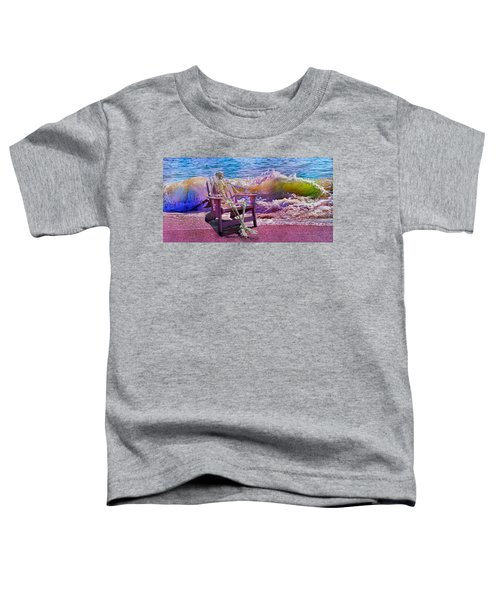 A-loon On The Beach  Toddler T-Shirt