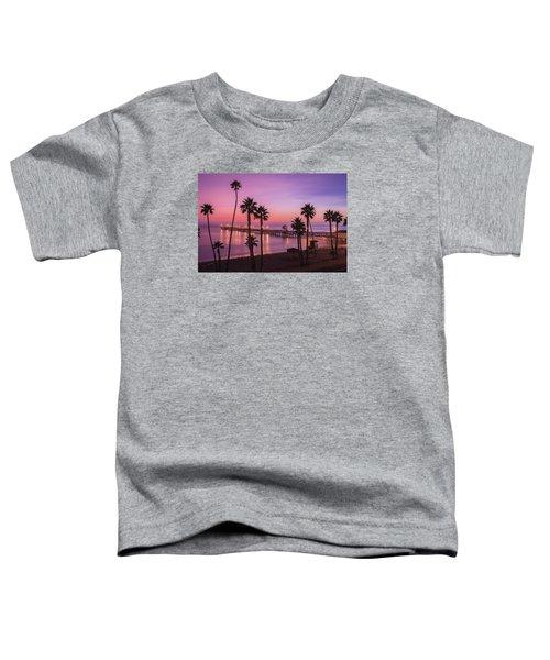 San Clemente Sunset Meditation Toddler T-Shirt