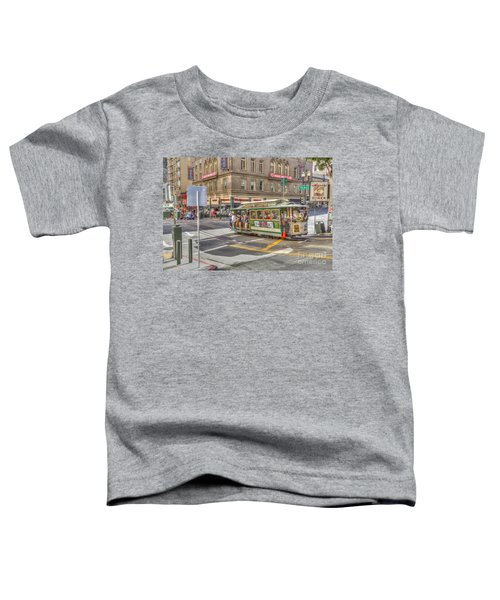 San Francisco Cable Car Toddler T-Shirt