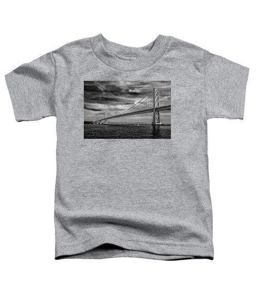 San Francisco - Oakland Bay Bridge Toddler T-Shirt