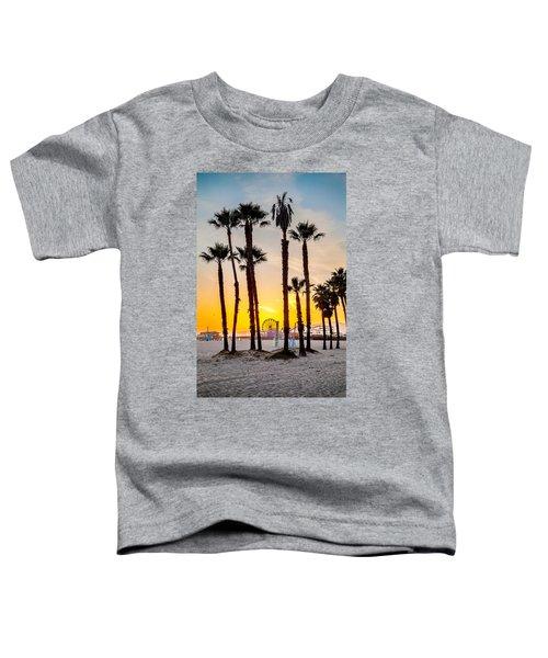 Santa Monica Palms Toddler T-Shirt