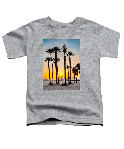 Santa Monica Palms Toddler T-Shirt