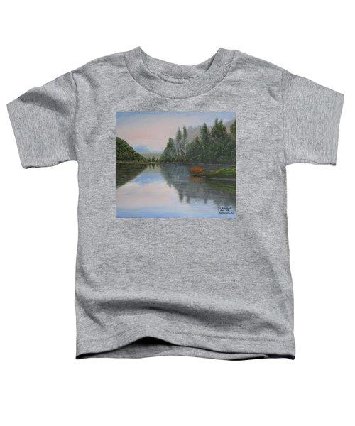 Sarita Lake On Vancouver Island Toddler T-Shirt