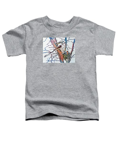Da149 Scissortailed Flycatchers By Daniel Adams Toddler T-Shirt