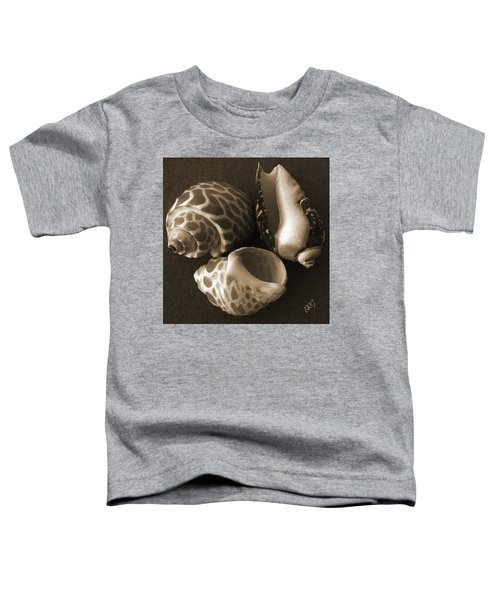 Seashells Spectacular No 1 Toddler T-Shirt