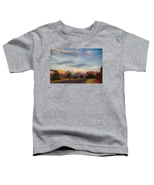 Sedona Arizona Allure Of The Red Rocks - American Desert Southwest Toddler T-Shirt