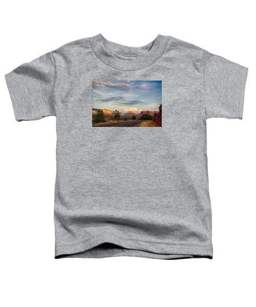 Sedona Arizona Allure Of The Red Rocks - American Desert Southwest Toddler T-Shirt
